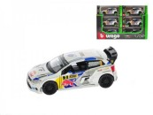 Auto Bburago kov 12cm 2014 Rally VW POLO WRC Team (J. Latvala) 1:32