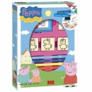 Razítka Pig Peppa,box  4ks