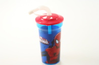 Lahev Spiderman 450 ml s brčkem