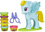 Play-Doh My Little Pony rainbow dash stylistický salón