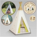 Teepee indoor/outdoor 2v1