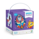 TM Toys Puzzle 2-3-4 dílků Transport