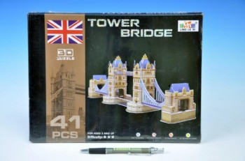 3D Puzzle Tower Bridge 41 dílků