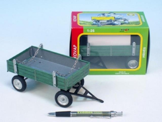 KOVAP Valník zelený kov 15cm v krabičce