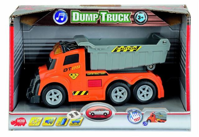 SIMBA AS Dump Truck 15 cm, světlo, zvuk