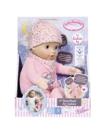Baby Annabell Heartbeat for babies, 30cm - 516 Kč